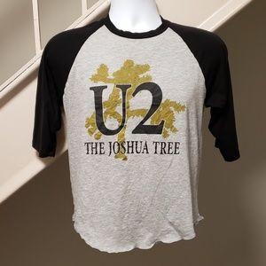 U2 The Joshua Tree 2017 Tour Small Raglan T-Shirt